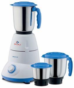 Bajaj Bravo Dlx 500-Watt Mixer Grinder