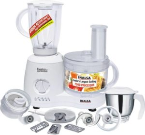 Inalsa Fiesta 650-Watt Food Processor