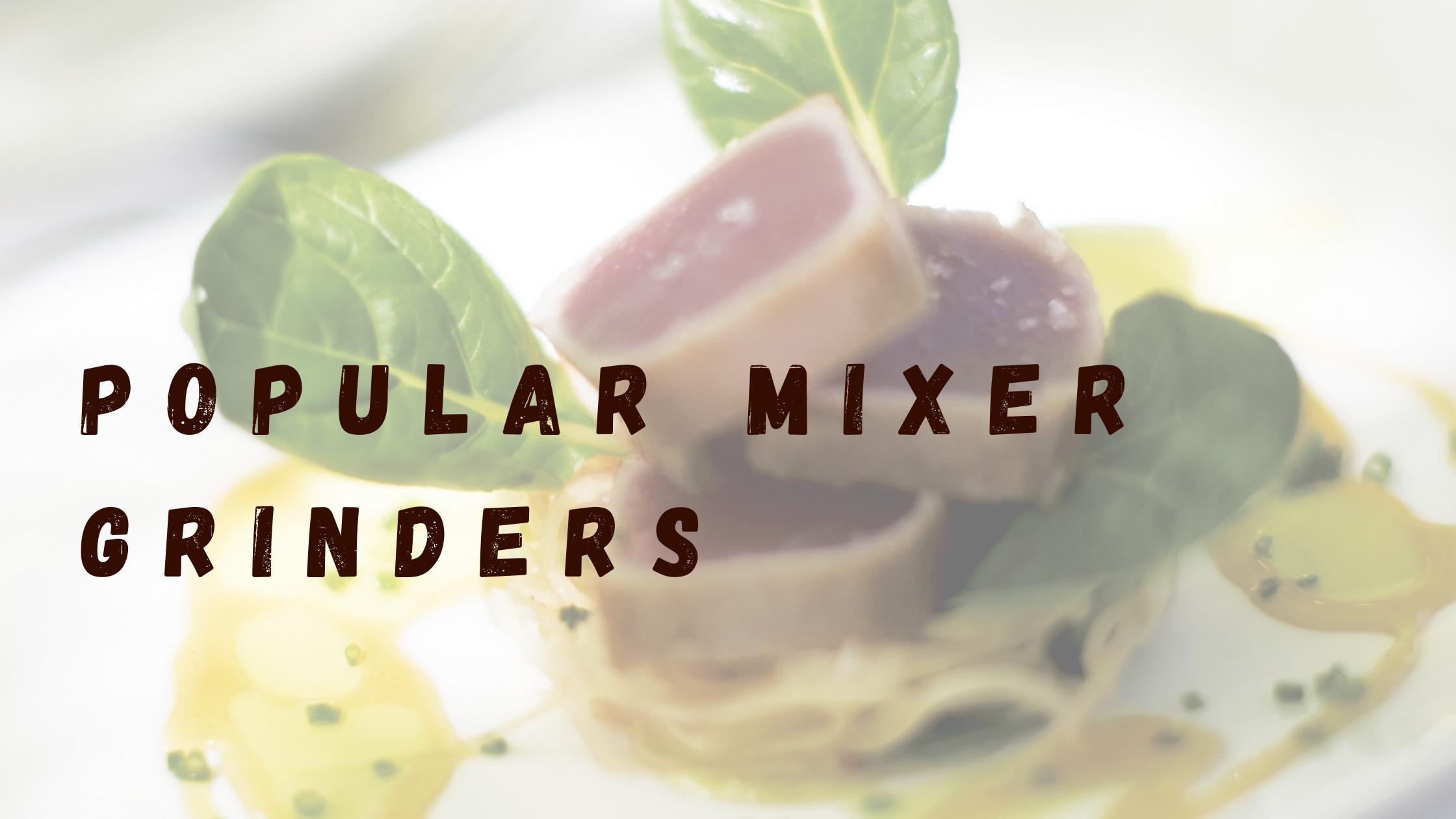 popular-mixer-grinder in India