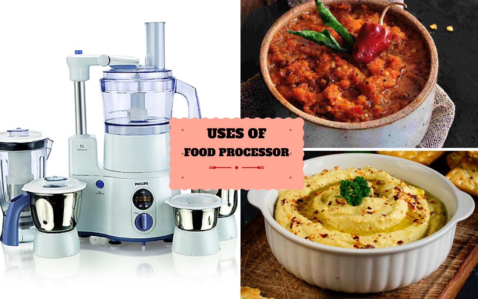 food processor uses