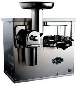 Hydraulic press juicer
