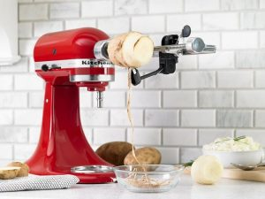 a stand mixer attachment