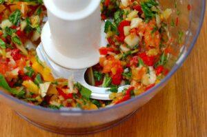 Instant veggie for salad