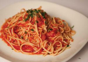 juicer made pasta sauce