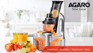 AGARO – 33293 Imperial Cold Press Slow Juicer.