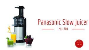 Panasonic MJ-L500 Cold Press Juicer