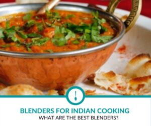 blender in Indian cooking